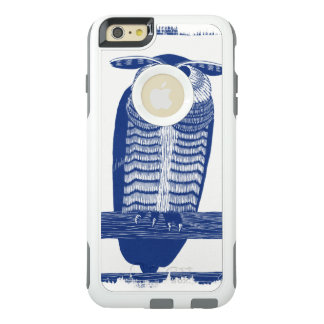 Cite Modern Owl In Blue OtterBox iPhone 6/6s Plus Case
