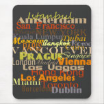 Cities Around the World Mousepad