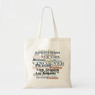 Cities Around the World Tote Bag