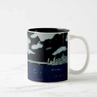 Cities by the Bay Two-Tone Mug