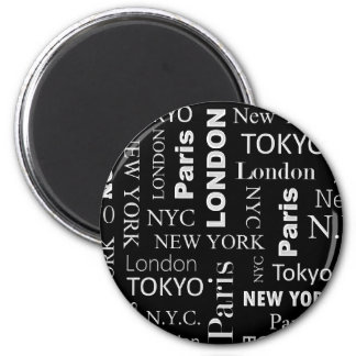 Cities Stylish Magnet