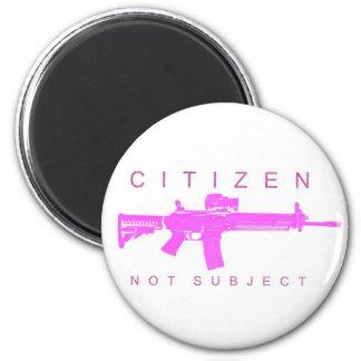Citizen Not Subject - Female Magnets