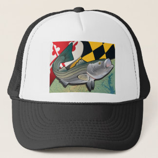 Citizen Rockfish of Maryland Trucker Hat