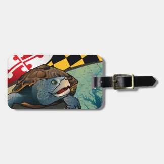 Citizen Terrapin, Maryland's Turtle Luggage Tag