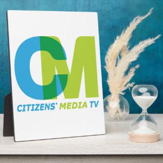 Citizens' Media Logo Plaque