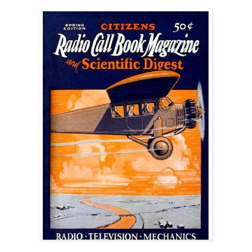 Citizens Radio Callbook 2 Post Card