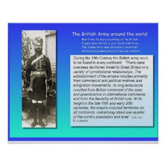 Citizenship Social Studies  British Army Poster