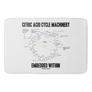 Citric Acid Cycle Machinery Embedded Within Krebs Bath Mat
