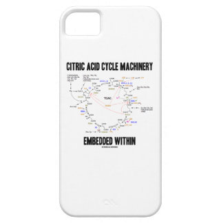 Citric Acid Cycle Machinery Embedded Within Krebs iPhone 5 Case