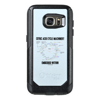 Citric Acid Cycle Machinery Embedded Within Krebs OtterBox Samsung Galaxy S7 Case