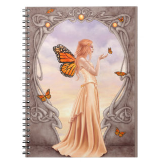 Citrine Birthstone Fairy Notebook
