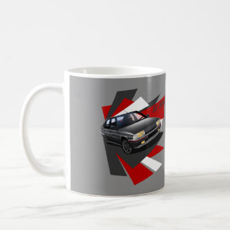 Citroen BX 16V illustrated Mug