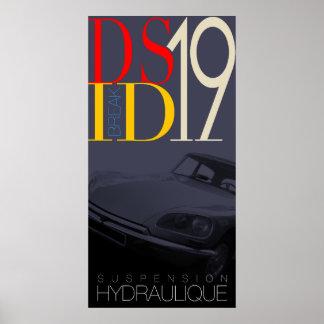 Citroen DS Poster