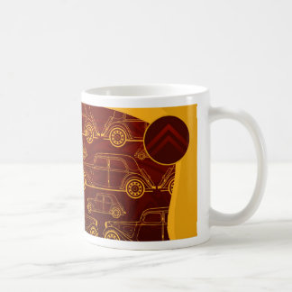 Citroen Traction Avant Illustrated Mug