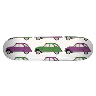 Citroen two horses skate decks