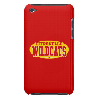 Citronelle High School Wildcats iPod Case-Mate Cases