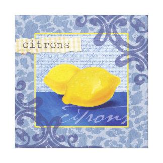 Citrons/Lemons Wall Decor Stretched Canvas Prints