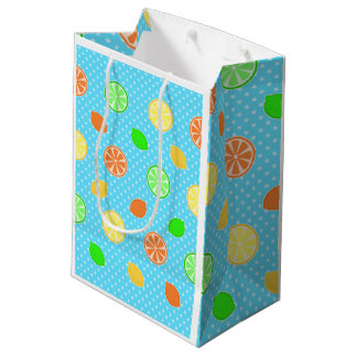 Citrus Bliss in Blue Medium Gift Bag