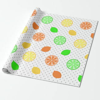 Citrus Bliss in White Wrapping Paper