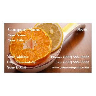 Citrus Business Cards