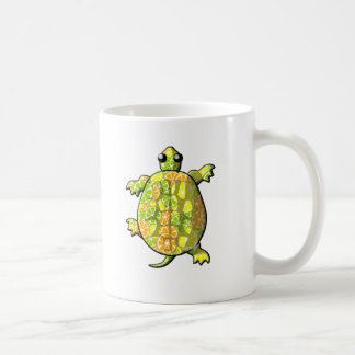 Citrus Climbing Turtles Coffee Mug