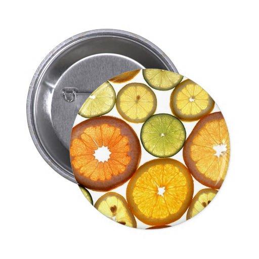 citrus fruits buttons