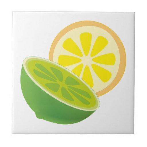 Citrus fruits citrus fruits ceramic tile