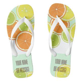 Citrus Fruits Original Design Personalized Thongs