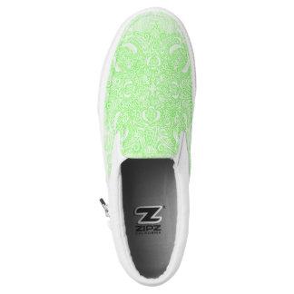 Citrus Green Fleury Slip-On Shoes