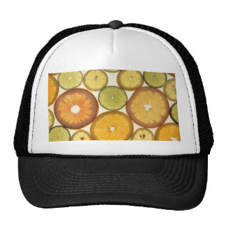 citrus mesh hat