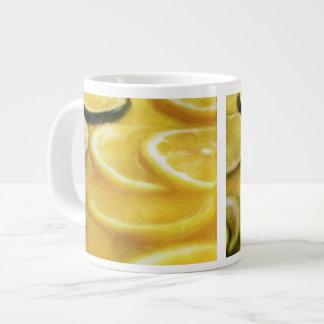 Citrus Lemon Lime Slices Jumbo Mug