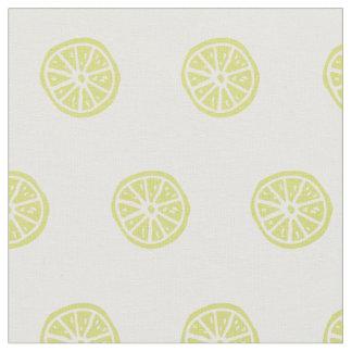 Citrus / lemon printed fabric