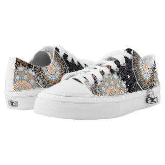 Citrus Mandala Pattern for Sneakers