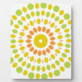 Citrus Mandala Plaque