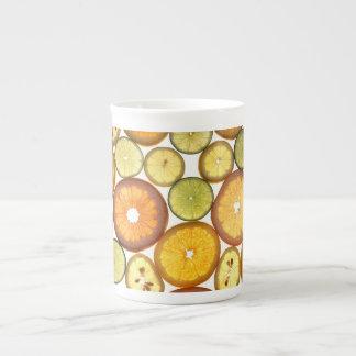citrus mug bone china mug