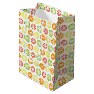 Citrus Pattern Gift Bag