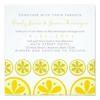 Citrus Pattern Invitation
