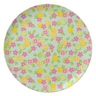 Citrus Dinner Plate
