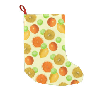 Citrus Pop Small Christmas Stocking