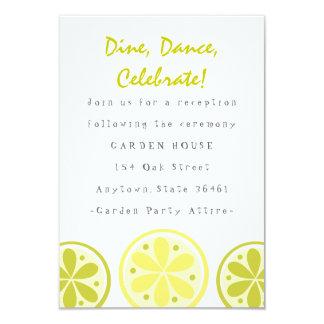 Citrus Reception Card