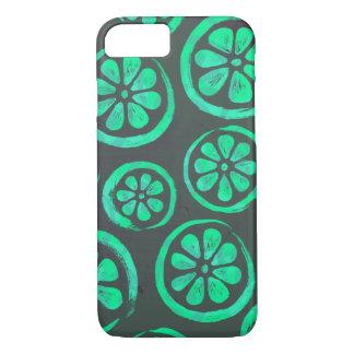 Citrus Slice Dark Mint iPhone 8/7 Case