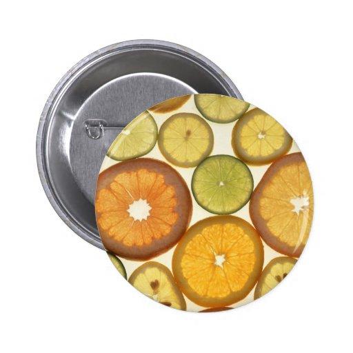 Citrus Slices Pins