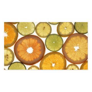 Citrus Slices Business Cards