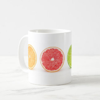 Citrus slices coffee mug