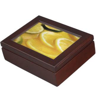 Citrus Slices Keepsake Boxes