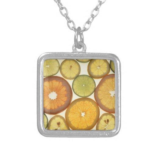 Citrus Slices Custom Necklace