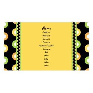 Citrus Splash Business Card Templates