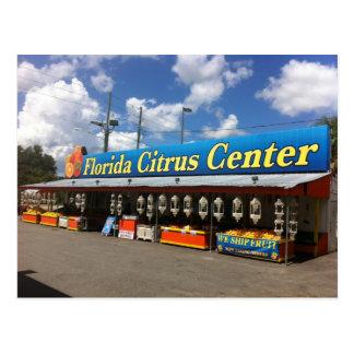 Citrus Stand Postcard