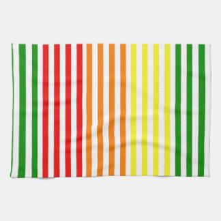 Citrus Stripes Kitchen Towel
