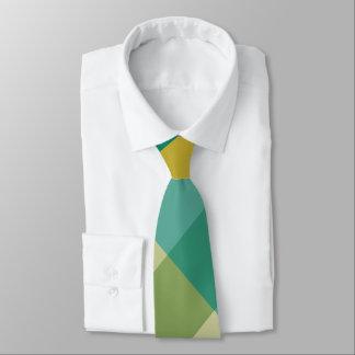Citrus Twist Plaid Necktie